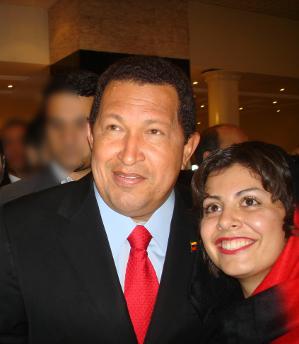 Visita Presidente Chavez a Teherán 2009