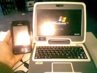Canaimita del INE con Windows XP